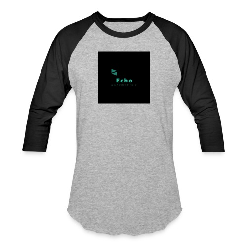 Echo Clan Offical Logo Merch - Baseball T-Shirt