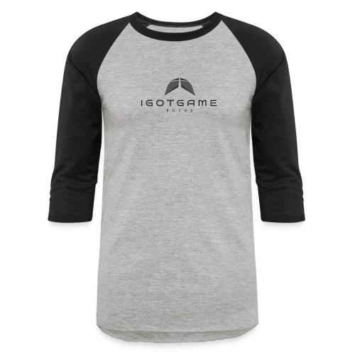IGOTGAME ONE - Baseball T-Shirt