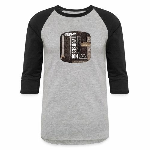 "InovativObsesion ""MECHANICAL"" apparel - Baseball T-Shirt"