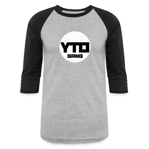 ytd logo - Baseball T-Shirt