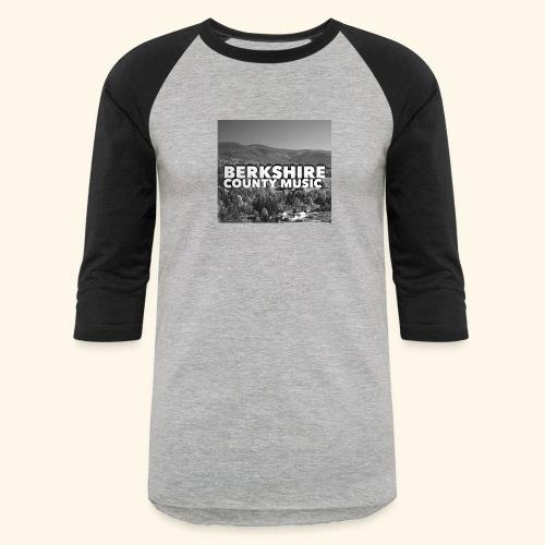 Berkshire County Music Black/White - Baseball T-Shirt
