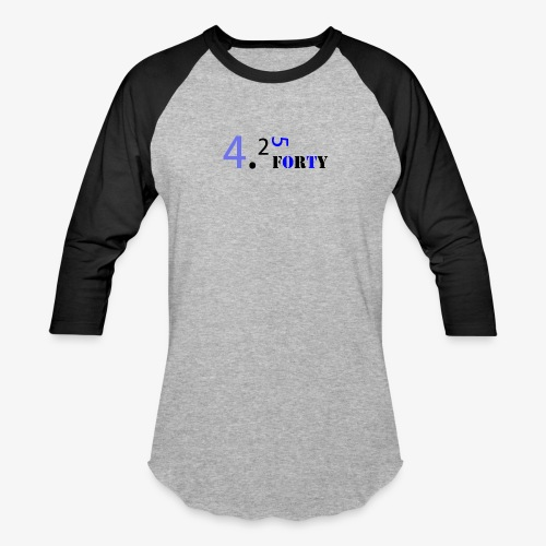 Logo 2 - Baseball T-Shirt