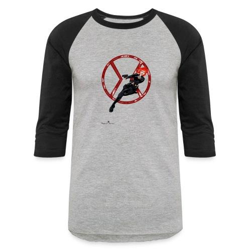 BULLETS AND BALLERINAS - Baseball T-Shirt