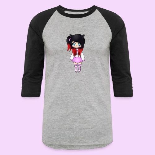 Chibi Wolfie - Baseball T-Shirt
