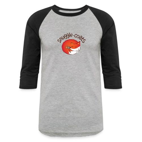 snugglecoatsfinal png - Unisex Baseball T-Shirt