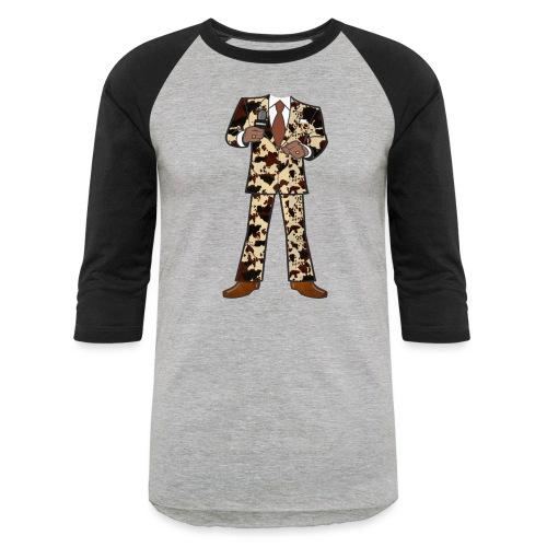 The Classic Cow Suit - Unisex Baseball T-Shirt