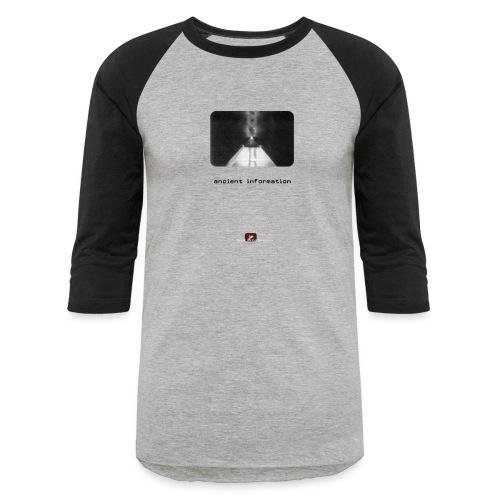 'Ancient Information' - Baseball T-Shirt