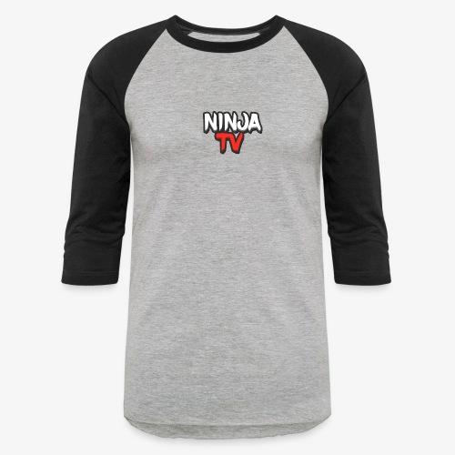 NINJA TV - Unisex Baseball T-Shirt