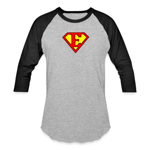 super E - Unisex Baseball T-Shirt