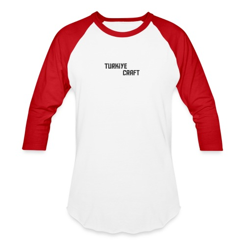 TurkiyeCrafts Solid Logo - Baseball T-Shirt