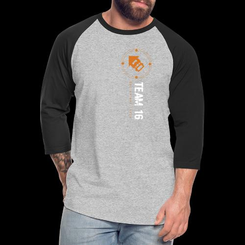 a - Unisex Baseball T-Shirt