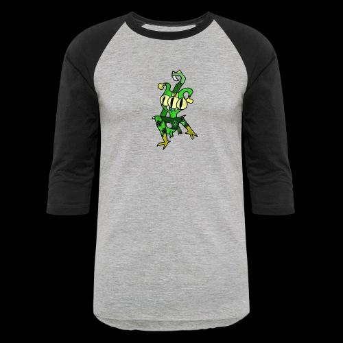 Three-Eyed Alien - Baseball T-Shirt