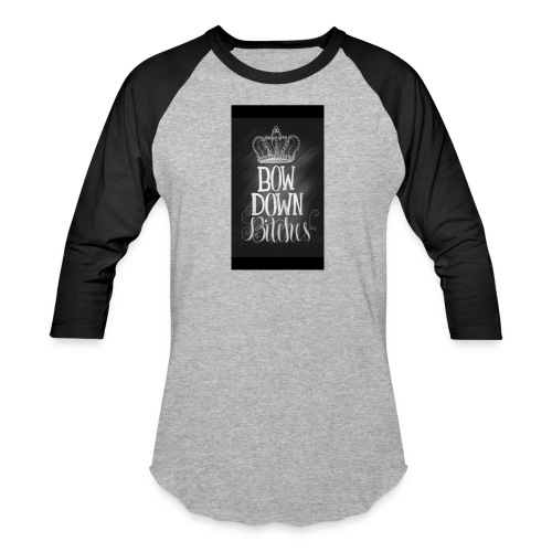 Bow to the Queen - Baseball T-Shirt