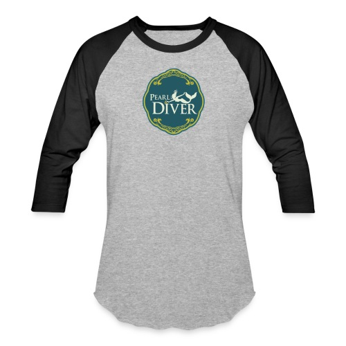 Pearl Diver Swag - Unisex Baseball T-Shirt