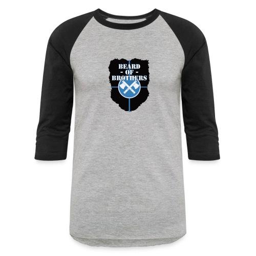 Beard Of Brothers - Unisex Baseball T-Shirt