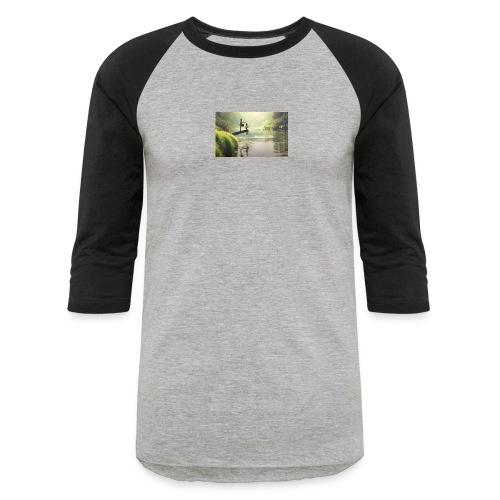 fishing - Baseball T-Shirt