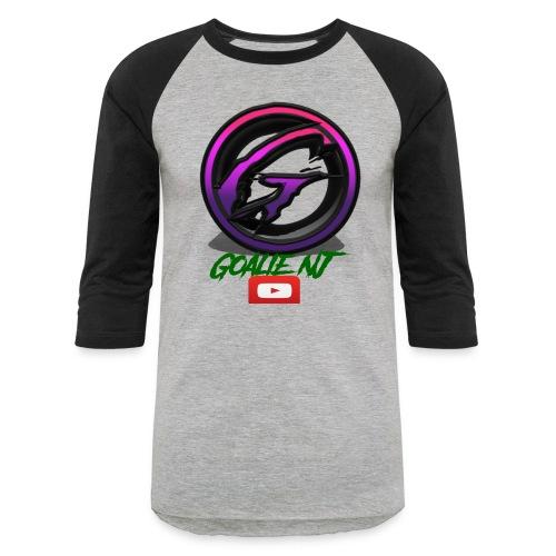 goalie nj logo - Baseball T-Shirt