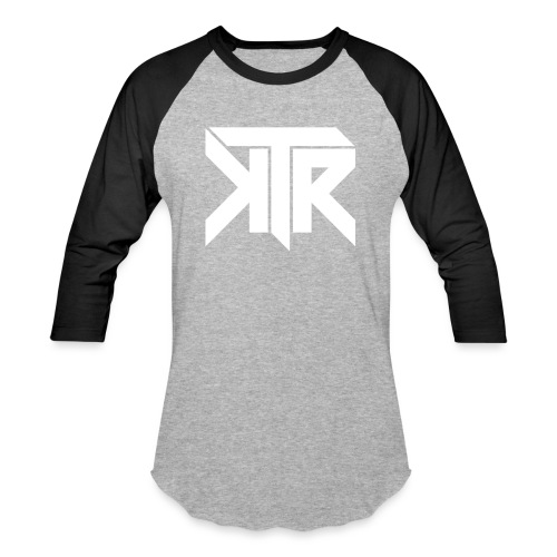 KTR Logo White - Baseball T-Shirt