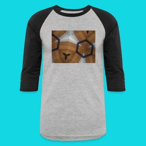 Kaleidoscope - Unisex Baseball T-Shirt