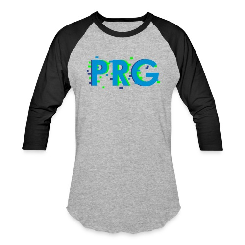 PRG distorted Neon libertarian Design - Baseball T-Shirt