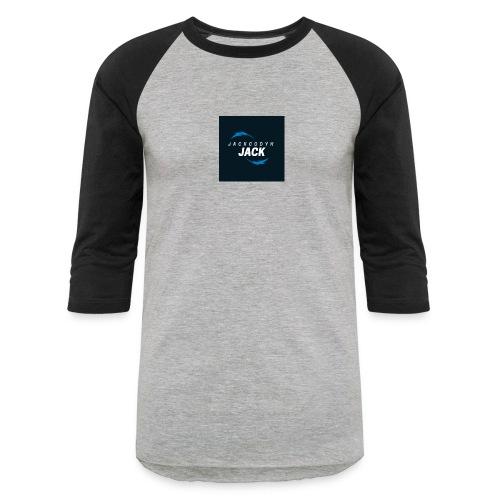 JackCodyH blue lightning bolt - Unisex Baseball T-Shirt
