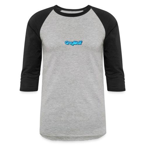 TEXT of GreyWolf - Baseball T-Shirt
