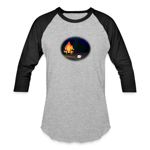 'Round the Campfire - Baseball T-Shirt