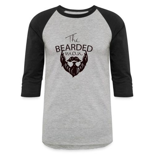 The bearded man - Baseball T-Shirt