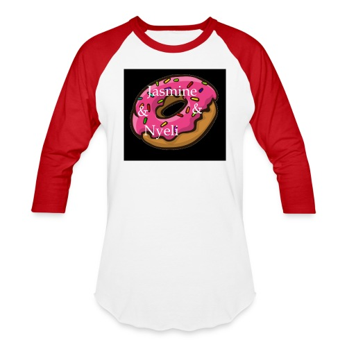 Black Donut W/ Our Channel Name - Baseball T-Shirt