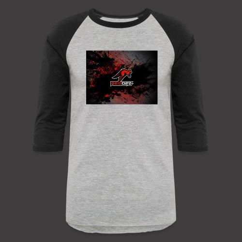 RedOpz Splatter - Unisex Baseball T-Shirt