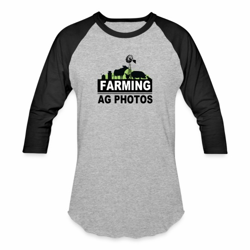 Farming Ag Photos - Baseball T-Shirt