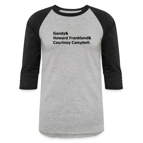 Bridges - Unisex Baseball T-Shirt