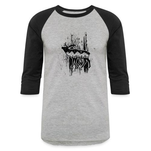 Elk - Unisex Baseball T-Shirt