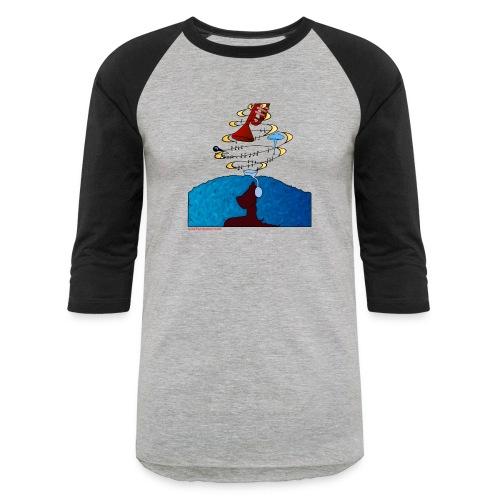 Girl and name shirt - Baseball T-Shirt