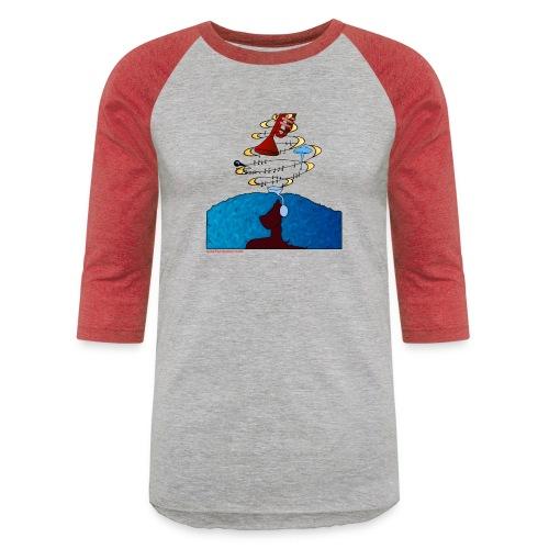 Girl and name shirt - Unisex Baseball T-Shirt