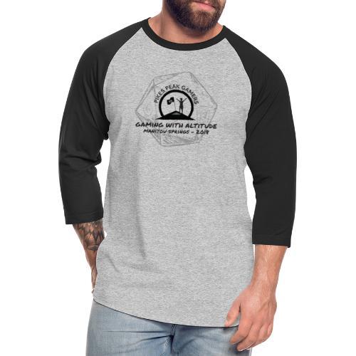 Pikes Peak Gamers Convention 2018 - Clothing - Unisex Baseball T-Shirt