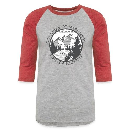Life is a Journey Design - Unisex Baseball T-Shirt