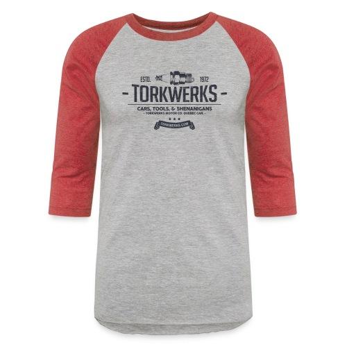 Torkwerks Spark - Unisex Baseball T-Shirt
