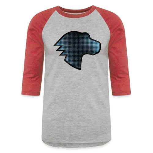 Dino Gradient - Unisex Baseball T-Shirt
