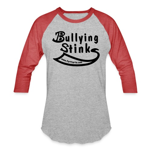 Bullying Stinks! - Baseball T-Shirt