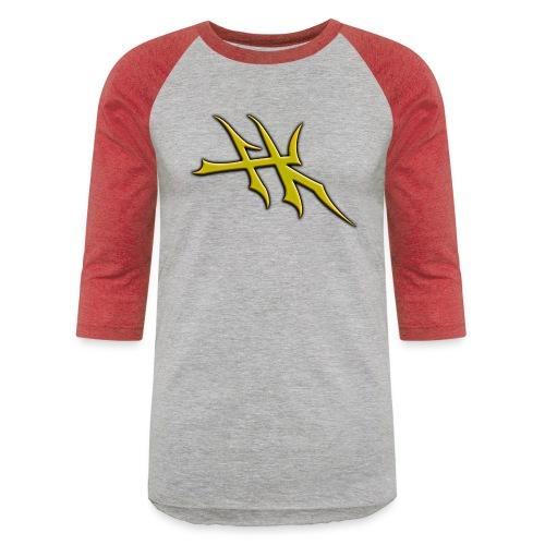 Blayde Symbol (Gold) - Unisex Baseball T-Shirt