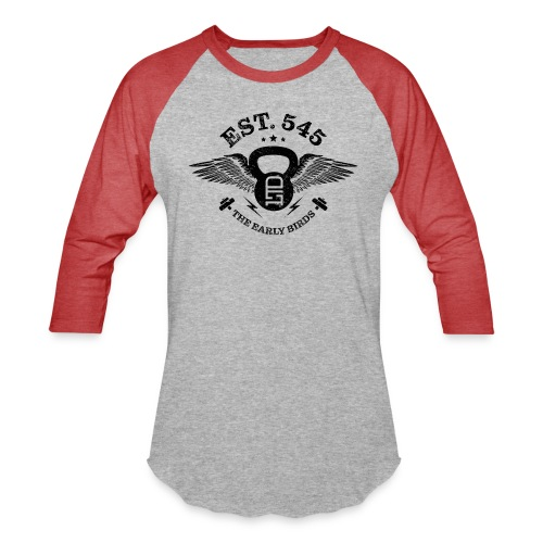 The Early Birds - Unisex Baseball T-Shirt