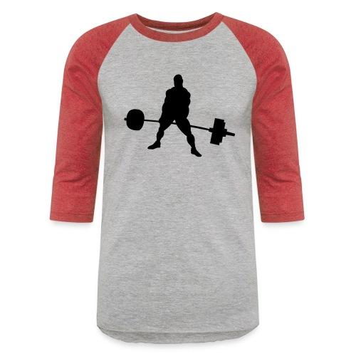 Powerlifting - Unisex Baseball T-Shirt