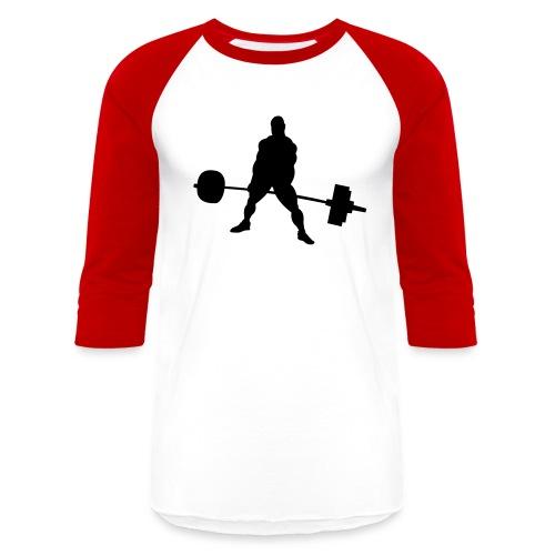 Powerlifting - Baseball T-Shirt
