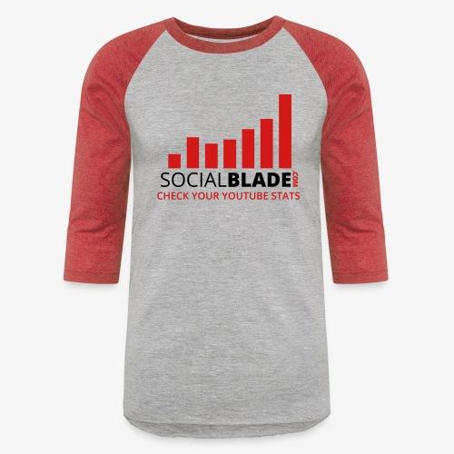 Traditional Logo Tagline - Unisex Baseball T-Shirt