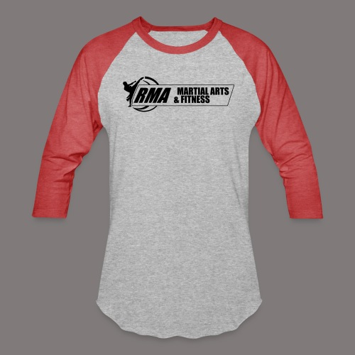 RMA-full-logo-Front-1clr- - Baseball T-Shirt