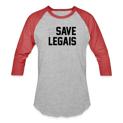 Save Legais - Baseball T-Shirt