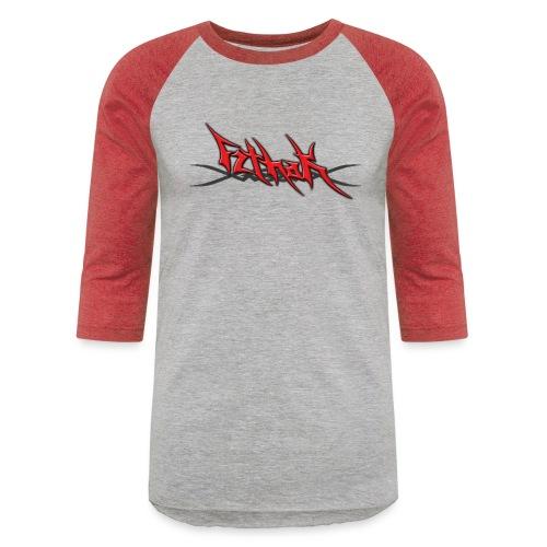 Blayde Logo (Red) - Unisex Baseball T-Shirt