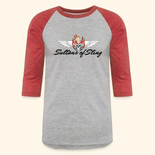 Sultans of Sling Shirt Logo - Unisex Baseball T-Shirt