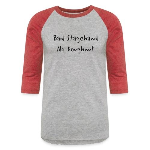 baddoughnut - Unisex Baseball T-Shirt